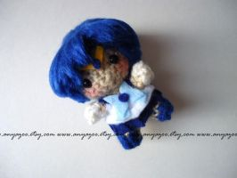 Sailor Mercury Amigurumi by AnyaZoe