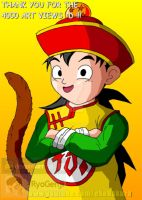 Kid Gohan Thanks you for the 4000 art views :'D ! by RyoGenji