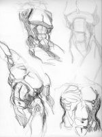 Anatomy Studies by M-F-X