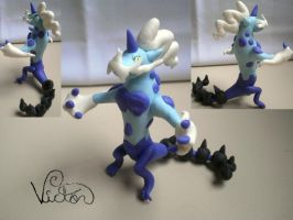 642 Thundurus Therian Forme by VictorCustomizer