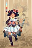 Mouse KMimi Girl Auction Adopt ::CLOSED:: by drawdopts