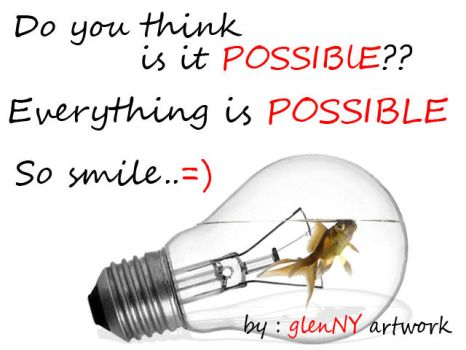 Possible or Imposible by GlenNY1906Artwork