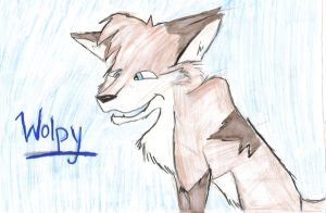 Wolpy by twilightprincesswolf