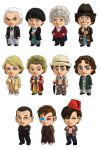 Doctor Who: all the Doctors! by cosplayscramble