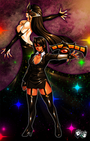 The Duelist Nico and Crime Boss Seductress by jadenkaiba