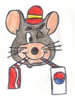 Which cola does Chuck E. like? by dth1971
