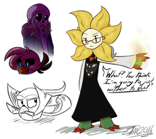 UnderGALE Doodles?? by Asher-Ghostface