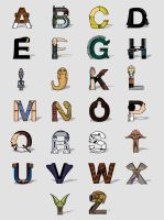 SW Alphabet by Lish0ffs