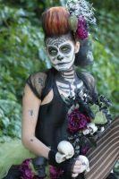 Day of the Dead Staff by bkell22