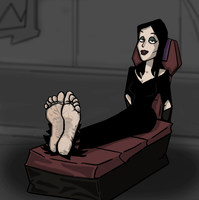 Morticia Addams by Red2870