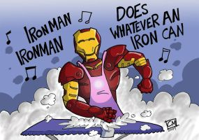 Iron Man by CyrilTheWizard