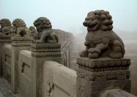 Lions of Lu Gou Qiao by SniperOfSiberia