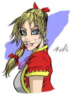 Kid from Chrono Cross by DaMADhattER