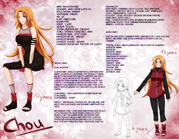 Chou info sheet by Kohane-chan