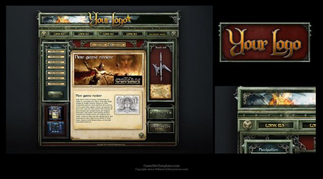 Fantasy Web Template by karsten