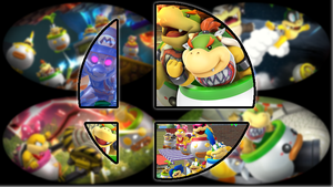 Ready to Smash: Bowser Jr. by Kirby-Kid