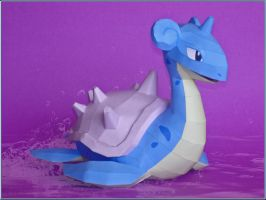 Lapras V2 Papercraft by Skele-kitty