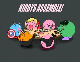 Kirbys Assemble! by PaiwaYunder7