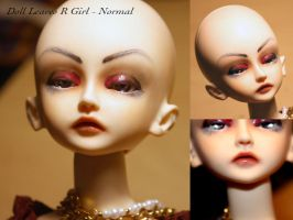 BJD Face Up - Doll Leaves R - NS 01 by Izabeth