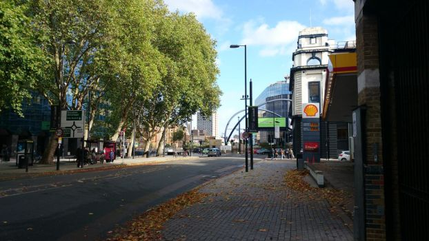 Old Street in the sun by ImageMagic