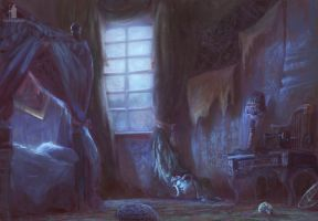 Mysterious Signs- bedroom by DartGarry