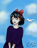 Kiki's Lucky (the Seagull is too) by koffeesistars2