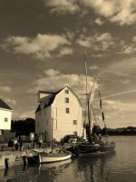 Tide Mill at Woodbridge, Suffolk by PhilsPictures