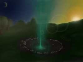 Flares arives on Equestria (Sfx attempt) by Masdragonflare