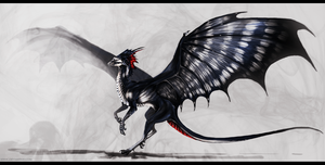 Dendrocopos Major Draconis by Isvoc
