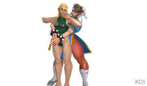 Cammy And Chun-Li by hendriw