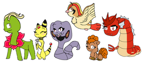 My SoulSilver Team by pokelover897
