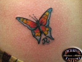 Butterfly Tattoo by theothertattooguy