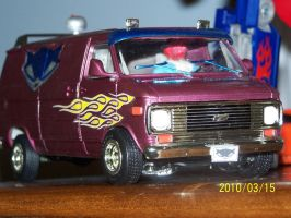 Sly1 Chevy Van complete5 by coonk9