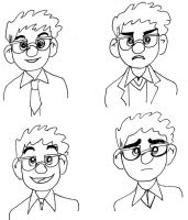 Up: Carl Doodles by stuffsophdoes