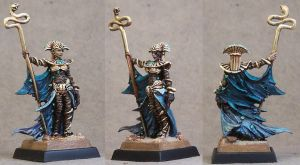 Tomb Kings High Queen Khalida by AnneCooper