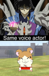 Same voice actor 35 by GokuandSonic707
