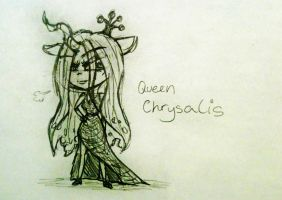 Queen Chrysalis  by Shadaily