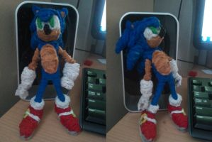 NEW Pipecleaner sonic by TriforceLegendX