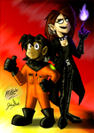 Collab - Hall-OH-Ween Costume... by MRottweiler-Dog