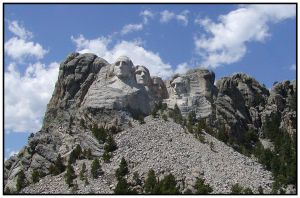 Mount Rushmore Revisited by Xwinger