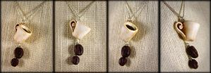 Mmmm... Coffee Lovers Necklace by NeverlandJewelry