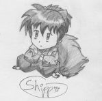 Shippo the Foxchild by BBChild