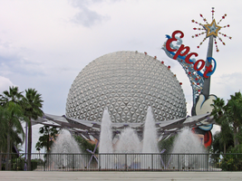 Epcot Spaceship Earth Stock 19 by AreteStock