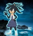 Lialey the Hedgehog by DragonWarrior25