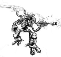 German Robot by buster126