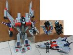 KRE-O 30667 Starscream by aim11