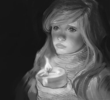 Candlelit -- WIP by chuckles-the-cat