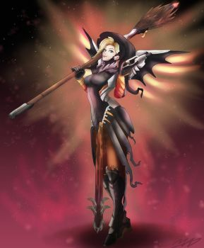 Mercy Witch by MadsMadnessRage