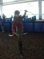 Otakon 2012 Rogue Hawke from Dragon Age by Ho-ohLover