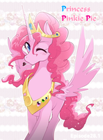 Princess Pinkie Pie by yuki-zakuro